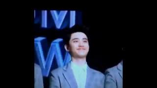 EXO D.O funny smile then panic face
