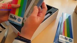 آنباکسینگ:   پرینتر سه بعدی قلمی 3Doodler