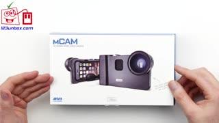 آنباکسینگ: قاب حرفه ای آیفون Mcam