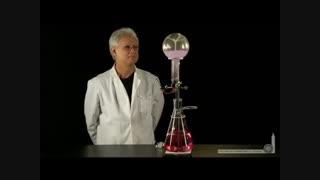048- فوارهی آمونیاکی ( انحلال سریع گاز آمونیاک در آب )
