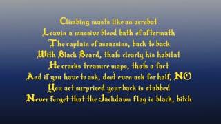Assassin's Creed 4 Rap LYRICS  by JT Machinima-Black Flag Rising