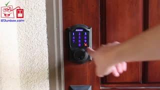 آنباکسینگ: قفل هوشمند Schalge