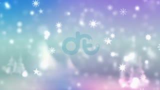 موشن گرافیک Background مخصوص زمستان