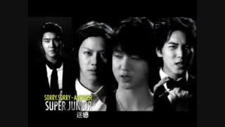 SuperJunior Sorry Sorry Answer