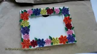 گل های کاغذی