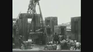 اولین مستند از حفاری های تخت جمشید(پرسپولیس)
