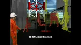 A virtual Journey to Jack-up rig/یک سفر مجازی به سکوی حفاری بالابر