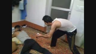 آتیش بازی در خانه دانشجویی