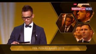 وندل لیرا برنده جایزه پوشکاش 2015