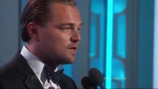Leonardo dicaprio best actor _ 2015 golden globe