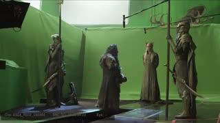 قسمتی از پشت صحنه فیلم هابیت:نابودی اسماگ