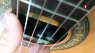 آموزش صفر تا صد گیتار کلاسیک با علیرضا نصوحی جلسه دهم