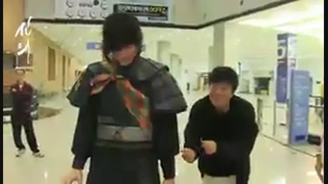 حذفی سریال ایمان نماشا پشت صحنه قسمت اول سریال ایمان - نماشا