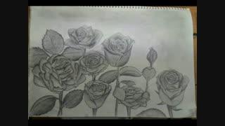 نقاشی من همین الان یهویی!