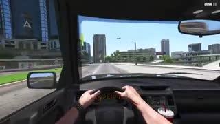 ویدئوی مد گروگان گیری بازی GTA V