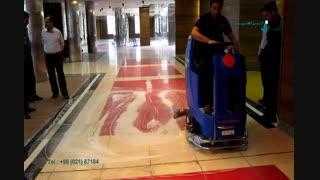 دستگاه اسکرابر با سرنشین-کف شو بزرگ خودرویی-نظافت کف زمین