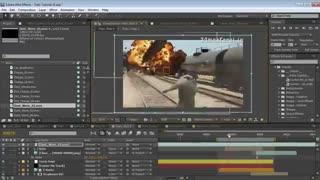 دانلود فیلم آموزشی ساخت و تولید جلوه های ویژه سینمایی  Adobe After Effects