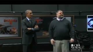 دیدار اوباما از استودیو دریم وورکز