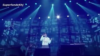 مشکلِ بستن دکمه ی آستین پیراهن هیون جونگ + کنسرت  let me be the one تور Gemini ژاپن 2015 کیم هیون جونگ