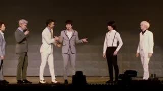 (باز دونگهه کرم دارد :| )سوپر جونیور براتون قلب درست میکنه :||| Super Junior Heart Sign ss6
