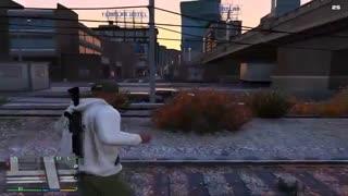 ویدئوی مد GangWar بازی GTA V