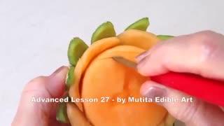 حکاکی میوه آرایی