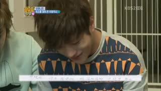 INFINITE - L Crying After Reading a Letter from Mother - گریه کردن کیم میونگ سو (عضو گروه اینفینیت) با خوندن نامه مامانش