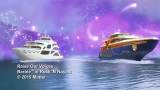 موزیک ویدیو باربی و راک سلطنتی به ایتالیایی
