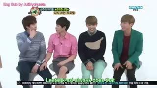 Super Junior Weekly Idol (Eng Sub) Part2