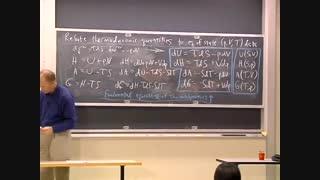 ترمودینامیک و سینتیک، دانشگاه MIT، جلسه 13
