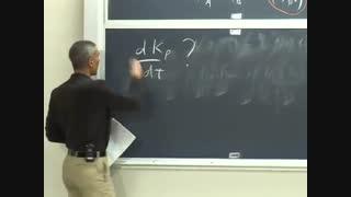 ترمودینامیک و سینتیک، دانشگاه MIT، جلسه 16