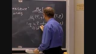 ترمودینامیک و سینتیک، دانشگاه MIT، جلسه 18