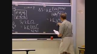 ترمودینامیک و سینتیک، دانشگاه MIT، جلسه 27