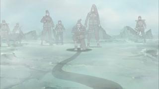 صحنه غم انگیز هاکو و زابوزا با کاکاشی در ناروتو شیپودن (Naruto Shippuden)