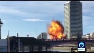 انفجار در مرکز لندن رعب و وحشت مردم را برانگیخت 1