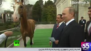 هدیه رئیسجمهوری روسیه به پادشاه بحرین