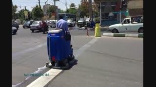 اسکرابر برای شستن کف زمین-دستگاه های کفشور صنعتی