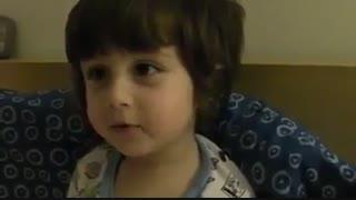 ایرانی حرف زدن ی بچه خارجی (خعلی باحاله ببینین)