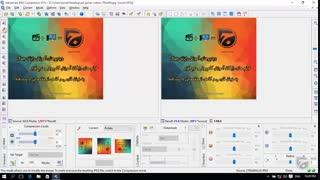 روال کار کردن با نرم افزار Advanced JPEG Compressor