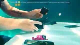جعبه گشایی فوق العاده دیدنی Galaxy S۷ در زیر آب!!!