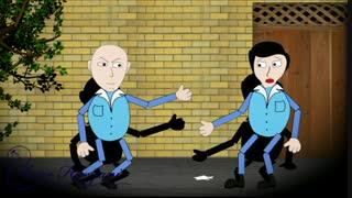 انیمیشن ریتمیک ایرانی « شهر ما خانه ماس تف نکنیم »