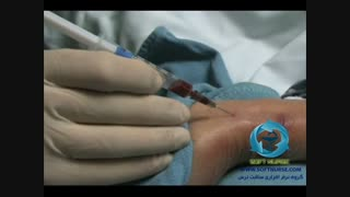 فیلم آموزشی نحوه گرفتن نمونه خون شریانی برای آنالیز گازهای خون شریانی ( ABG )