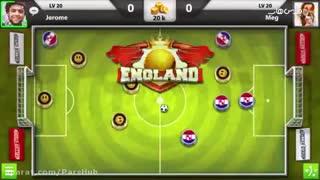بازی فوق العاده زیبای فوتبال دستی Soccer Stars