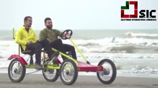 پدال خودرو - حرکت در خط ساحلی دریا