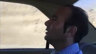 داریوش اقبالی در جاده های ایران