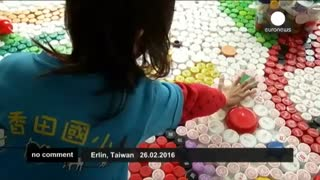 بازیافت و آفرینش هنری با درهای بطری