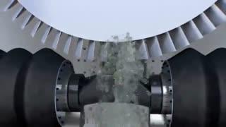 ساخت پره توربین با ماشین ECM