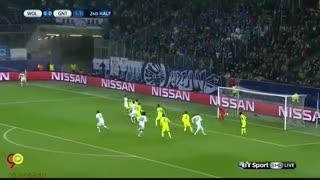 وولفسبورگ 1 - 0 خنت + تحلیل بازی