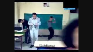 رقصیدن پشت معلم