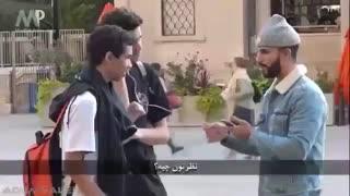 وقتی آمریکایی ها قرآن گوش می دن